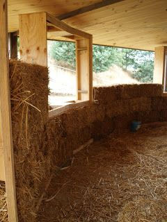 The Round strawbale house