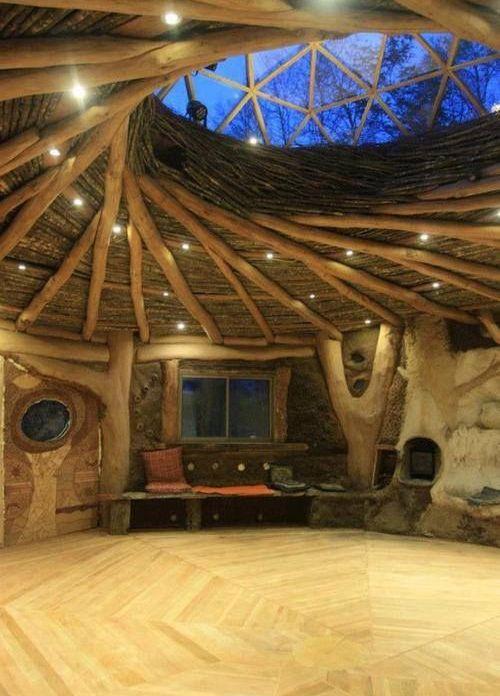 Nature round house