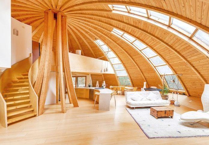 Future round house interier